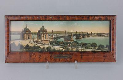 Souvenir de Mayence Mainz  Hinterglasansicht, 1920er Jahre
