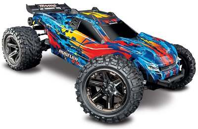Traxxas Rustler 4x4 VXL Red 1/10 Brushless Truck 67076-4