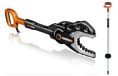 """WORX WG308 JawSaw 5 Amp 6"""" Electric Chainsaw with Extension Handle"""