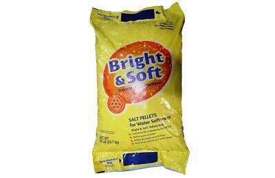 Sodium Chloride Extra Coarse Pellet Solar Salt Nacl White Solid 50 Lb Bag