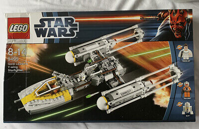 LEGO *NEW* 9495 Star Wars Gold Leader's Y-Wing Starfighter  2012  Damaged Box