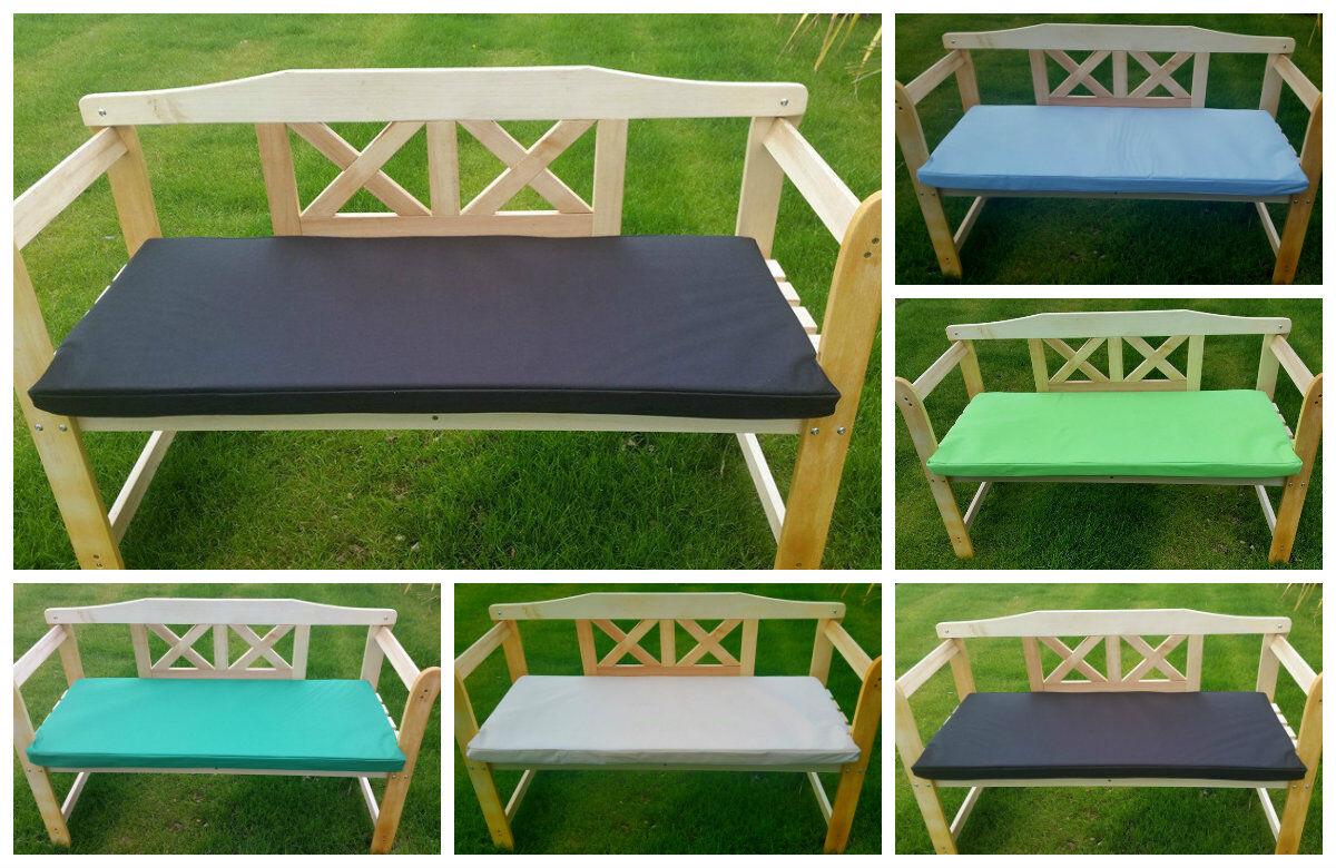 Outdoor Waterproof 2 Seater Bench Swing Seat Garden