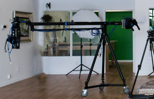 Camera Swinging arm system, movie level, full package
