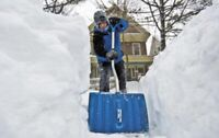 Roof snow removal! Stop basement flooding!