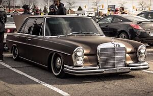 1972 Mercedes Benz 280se 4.5 Air Suspension