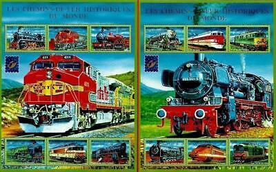 Guinea = Steam & Eléctrico Tren Locomotoras Del Mundo x2 Grande M/S...