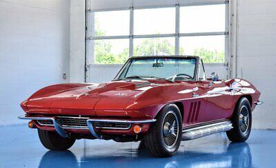 1966 Red Chevrolet Corvette   | C2 Corvette Photo 1