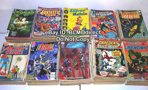 CHEAP! Huge 20 Comic Book Lot 1970s - 2010s Marvel DC Indy Mixed Bronze - Modern