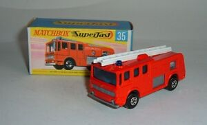 Matchbox Superfast 35, Merry Weather Fire Engine, MIB