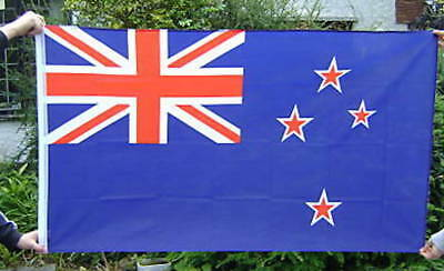 NEW 5 x 3 FOOT (150x90cm) NEW ZEALAND FLAG