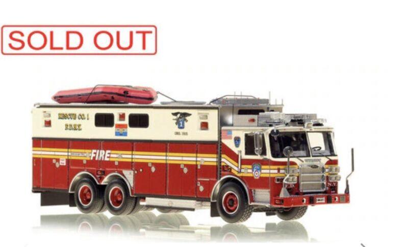 Pierce Arrow XT FDNY Rescue 1 Fire Replicas 1/50 Diecast FR098 New