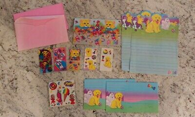 Misc. Vintage Lisa Frank Stickers and Paper