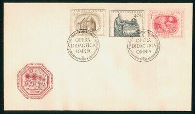 Mayfairstamps Czechoslovakia 1937 Opera Didactica Omnia Combo Cover wwo_53177
