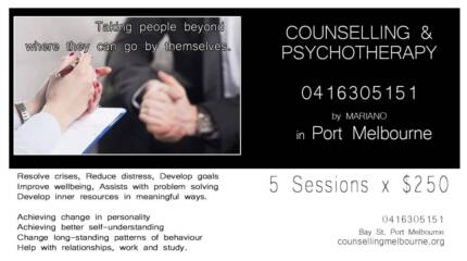 Counselling  & Psychotherapy Melbourne