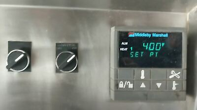 Middleby Marshall Ps350-360 Double Factory Repurposed Natural Gas Conveyor Oven