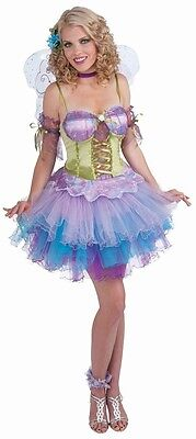 Fantasy Elf Halloween Costumes (Daydream Fairy Pixie Fantasy Fairies Fancy Dress Up Halloween Sexy Adult)