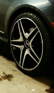 19 inch c300 mags with tires