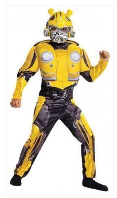 Transformers Bumblebee Movie - Bumblebee Child Deluxe - Deluxe Bumblebee Costume
