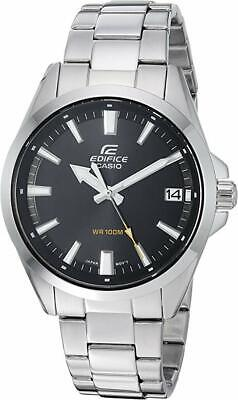 Casio Men's Edifice Analog Quartz Stainless Steel Watch EFV100D-1AV