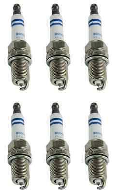 6X Bosch OE Fine Wire Platinum Spark Plugs Chevy Silverado Pickup Express Van V6