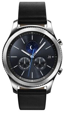 Samsung Galaxy Gear S3 classic Black Classic 46mm Stainless Steel Case New Other, used for sale  Shipping to Canada