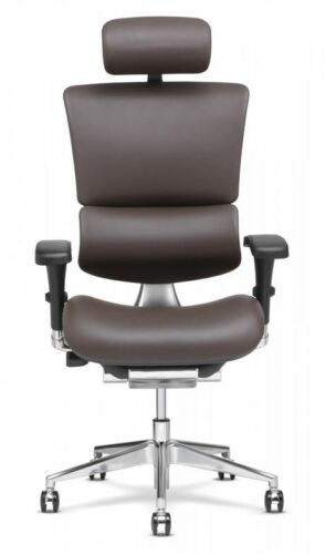 Brand New X-Chair X4 Leather Exec Office Chair with Headrest Free Shipping