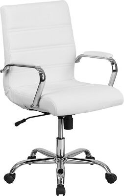 mid leather executive swivel chair