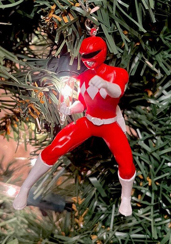 2021 NEW Red Ranger - Mighty Morphin Power Ranger Christmas Tree Ornament