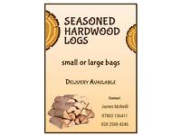 Seasoned Hardwood Logs for Firewood for sale