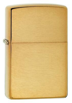 Zippo Brushed Brass Lighter Choice Inserts Fluid Butane Dual Torch Tobacco Pipe
