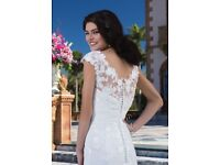 Justin Alexander Sincerity Wedding Dress 3837 Size 8
