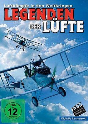 Leg Material (Legenden der Lüfte - Luftkämpfe in den Weltkriegen DVD NEU Doku Ori Filmmaterial)