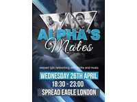 Gay / LGBT Networking Event - Alphas Mates (Croydon)