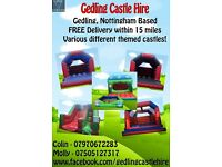Nottingham Bouncy Castle & disco dome hire prices from £45
