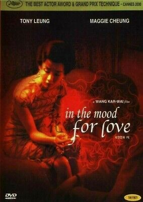 In the Mood for Love (2000) Maggie Cheung / Tony Chiu-Wai Leung / DVD NEW