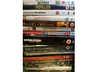 90+ DVDs various genres