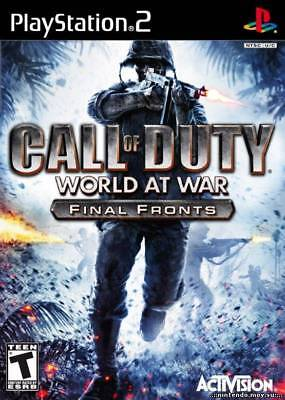 Activision Call Of Duty: World At War Final Fronts Ps2 Pl...