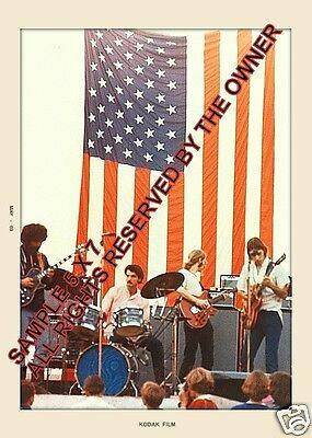 GRATEFUL DEAD SAN JOSE POP 1969 AMAZING 5x7 BEST EVER #2 NEW
