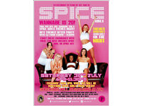 Stop Right Now! Spice Girls 20 party