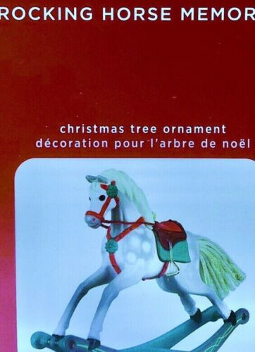 2020 Hallmark Keepsake Ornament Rocking Horse Memories  FIRST IN SERIES-DISPLAY