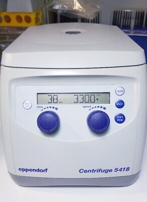 Eppendorf 5418 Benchtop Digital Centrifuge With Fa-45-18-11 Rotor And Lid
