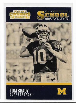 Tom Brady 2016 Contenders  Old School Insert     New England Patriots