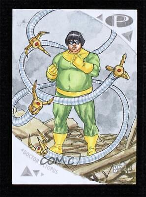 2019 Upper Deck Marvel Premier Sketch Cards Abdul Ghofur Doctor Octopus 1/1 Auto - $0.99