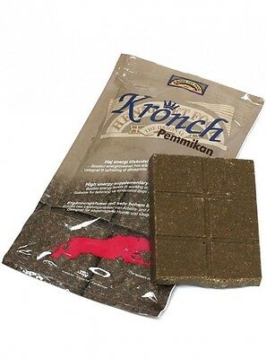 Kronch Pemmikan Energy Feeding Bar Working Dogs Agility Shooting Working Boost