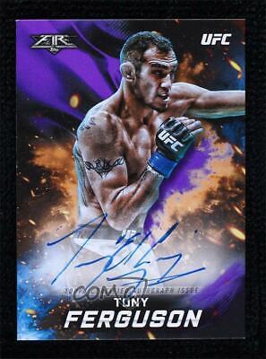 2019 Topps UFC Knockout Fighter Purple 9/25 Tony Ferguson FA-TF Auto - $36.00