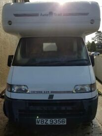 Fait ducato motorhome 1 owner from new