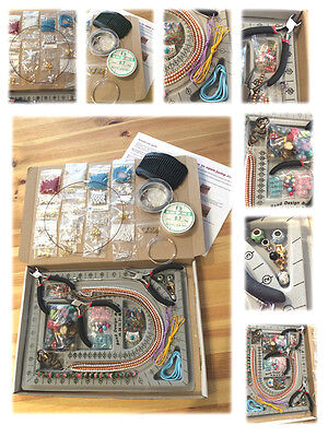 Ultimate Starter Jewellery Making Kit Tools Beads Board Findings Instructions