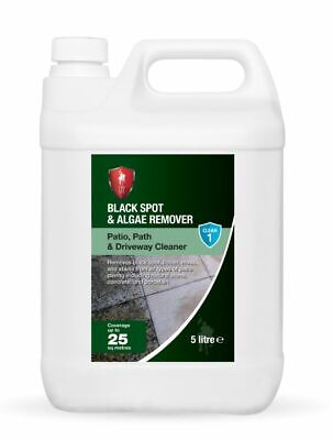 LTP Black Spot, Dirt & Algae Remover 5 Litre Patio & External Stone Cleaner