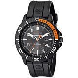 Timex Men's Expedition Uplander Anaog Quartz Indiglo Black Resin Watch T499409J