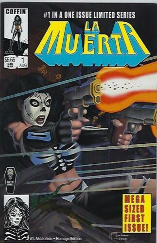 La Muerta Ascension #1 Kickstarter Marat Mychaels Homage Edition !!!   NM